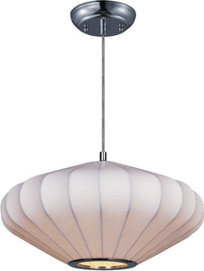 Maxim Cocoon 1-Light Pendant Polished Chrome 12185WTPC