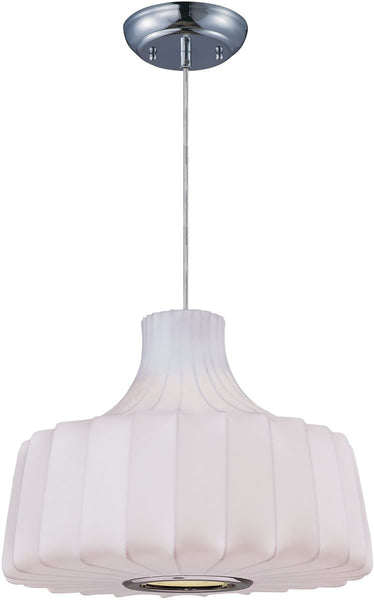 Maxim Cocoon 1-Light Pendant Polished Chrome 12186WTPC