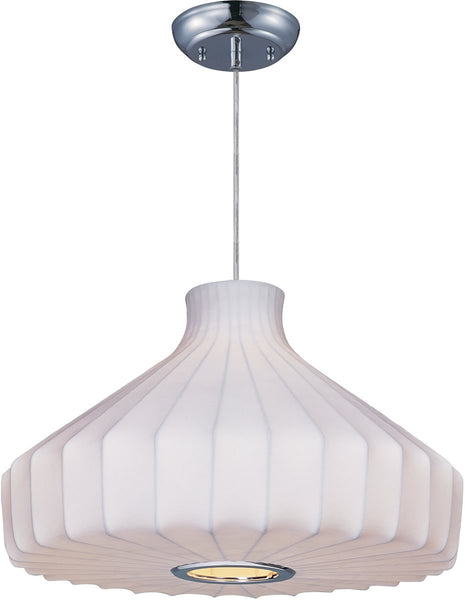 Maxim Cocoon 1-Light Pendant Polished Chrome 12187WTPC