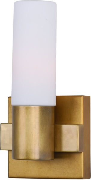 Maxim Contessa 1-Light Wall Sconce Natural Aged Brass 22411SWNAB
