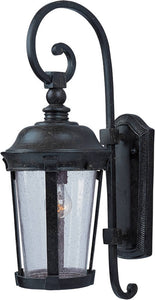 Maxim Dover Cast 1-Light Outdoor Wall Mount Bronze 3023CDBZ
