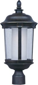 Maxim Dover EE 1-Light Medium Outdoor Pole/Post Lantern Bronze 86592CDFTBZ