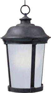 Maxim Dover 1-Light Outdoor Hanging Lantern Bronze 85099FSBZ