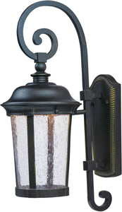 Dover LED Outdoor Wall Lantern Bronze
