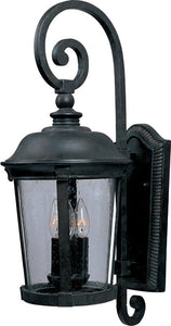 Maxim Dover Vivex 3-Light Outdoor Wall Mount Bronze 40094CDBZ