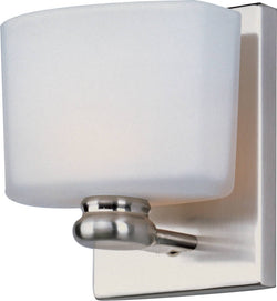 Maxim Essence 1-Light Wall Sconce Satin Nickel 9001SWSN