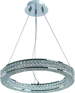 Maxim Eternity LED 3-Light Pendant Polished Chrome 39772BCPC