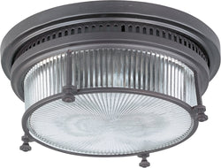 Maxim Hi-Bay 2-Light Flush Mount Bronze 25000CLBZ