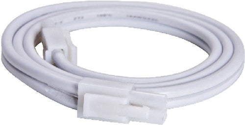 Maxim CounterMax MXInterlink2 9 Led Under Cabinet Light Bar Connector Cord White 87818WT