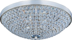 Maxim Glimmer 4-Light Flush Mount Plated Silver 39871BCPS