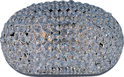Maxim Glimmer 2-Light Wall Sconce Plated Silver 39881BCPS