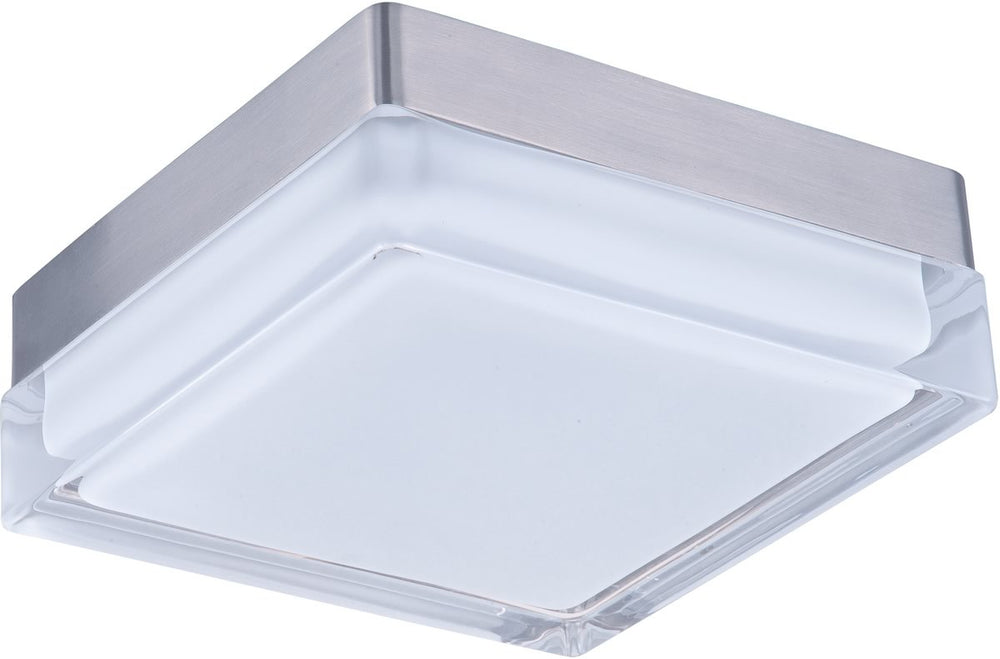 "7""W Illuminaire LED Flush Mount Satin Nickel"