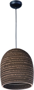 Maxim Java 1-Light Pendant Black 9104JVBK