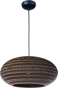 Maxim Java 1-Light Pendant Black 9105JVBK