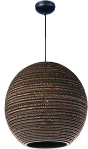 Maxim Java 1-Light Pendant Black 9106JVBK