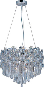 Maxim Jewel 12-Light Pendant Polished Chrome 39924BCPC