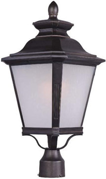 "23""H Knoxville LED Outdoor Pole/Post Lantern Bronze"