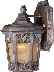"11""H Lexington Vivex 1-Light Outdoor Wall Mount Colonial Umber"