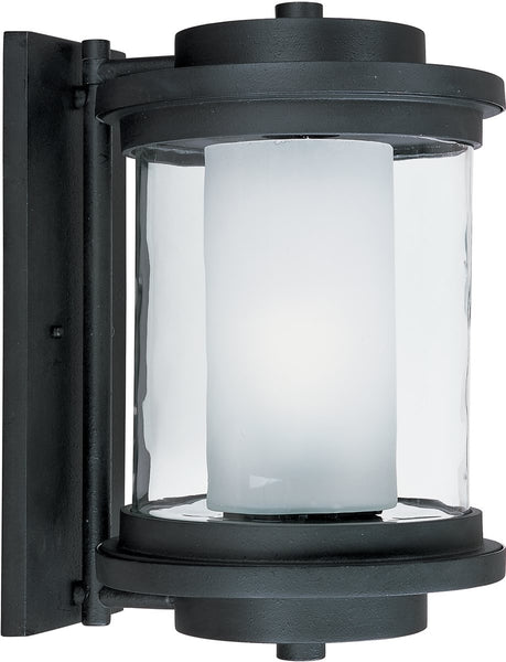 Maxim Lighthouse EE 1-Light Outdoor Wall Anthracite 85866CLFTAR