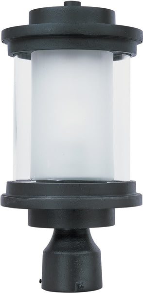 Maxim Lighthouse 1-Light Outdoor Post Anthracite 5860CLFTAR