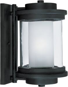 Maxim Lighthouse 1-Light Outdoor Wall Anthracite 5864CLFTAR