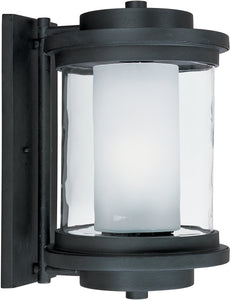 Maxim Lighthouse 1-Light Outdoor Wall Anthracite 5866CLFTAR