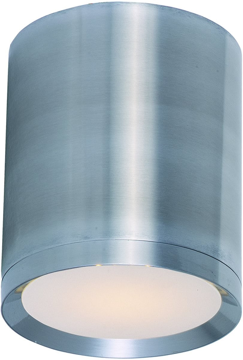 Lightray 1-Light LED Outdoor Ceiling Light Brushed Aluminum