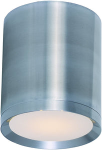 Maxim Lightray 1-Light LED Outdoor Ceiling Light Brushed Aluminum 86104AL