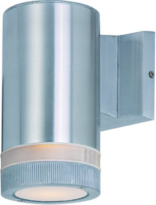 Maxim Lightray 1-Light Outdoor Wall Light Brushed Aluminum 6110AL