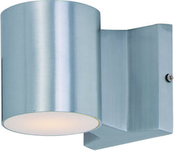 Lightray 2-Light LED Outdoor Wall Light Brushed Aluminum