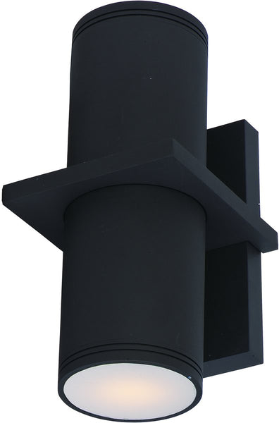 Maxim Lightray 2-Light LED Outdoor Wall Light Architectural Bronze 86115ABZ