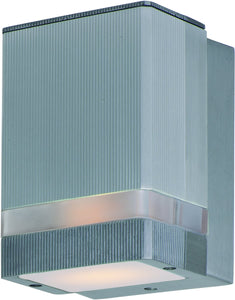 Maxim Lightray 1-Light LED Outdoor Wall Light Brushed Aluminum 86128AL