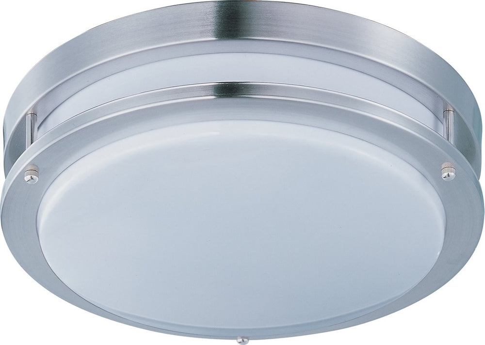 "16""w Linear LED 1-Light Flush Mount Satin Nickel"