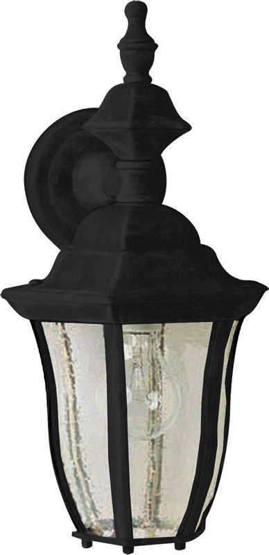 "16""H Madrona 1-Light Outdoor Wall Mount Black"