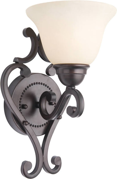 "7""w Manor 1-Light Wall Sconce Oil Rubbed Bronze"