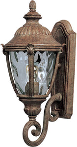 "20""h Morrow Bay Die-Cast Aluminum 1-Light Outdoor Wall Mount Earth Tone"