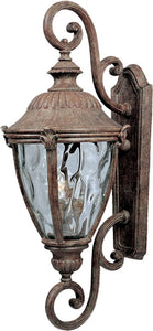 Maxim Morrow Bay DC 3-Light Outdoor Wall Lantern Earth Tone 3189WGET