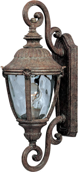 "22""h Morrow Bay Vivex 1-Light Outdoor Wall Mount Earth Tone"