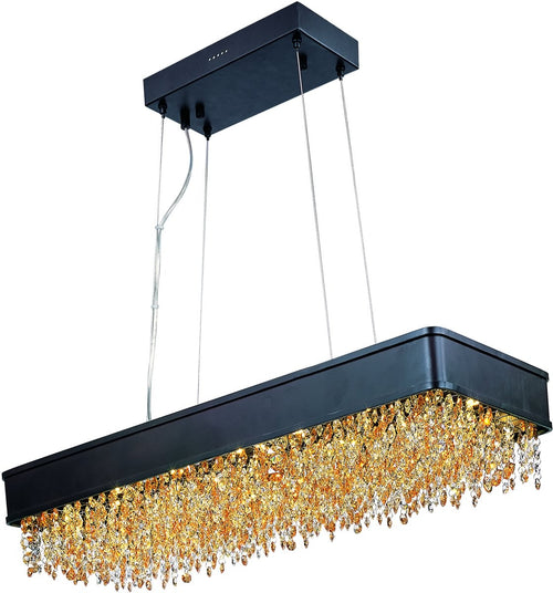 Maxim Mystic 22-Light Chandelier Bronze