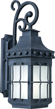 "23""H Nantucket EE 1-Light Outdoor Wall Mount Country Forge"