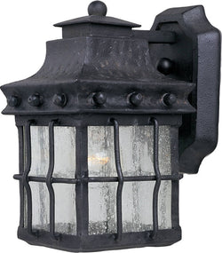 Maxim Nantucket 1-Light Outdoor Wall Mount Country Forge 30081CDCF