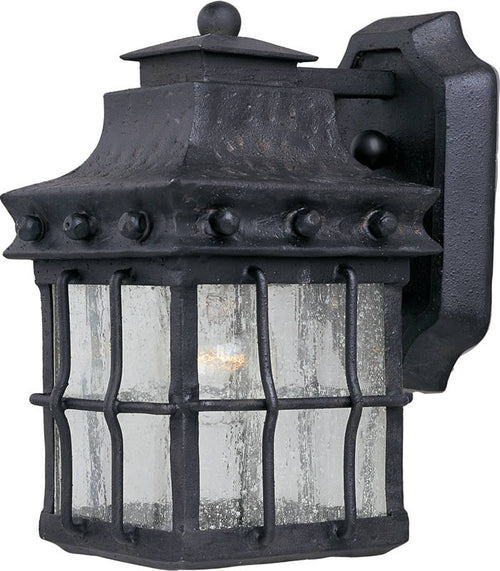 "10""h Nantucket 1-Light Outdoor Wall Mount Country Forge"