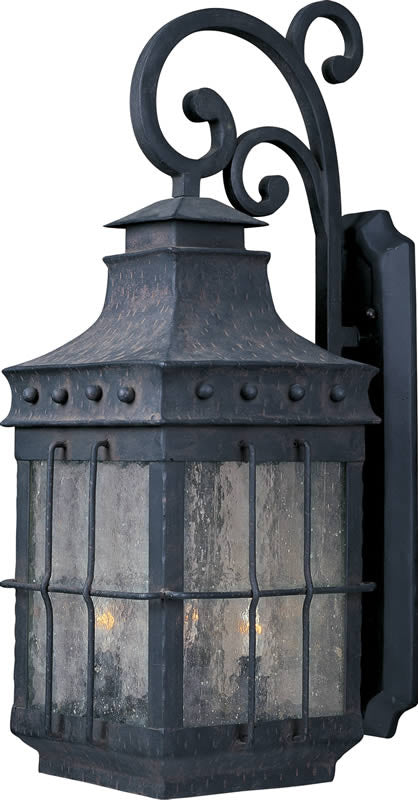 "32""h Nantucket 4-Light Outdoor Wall Mount Country Forge"
