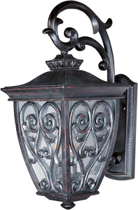 "18""h Newbury Vivex 3-Light Outdoor Wall Mount Oriental Bronze"