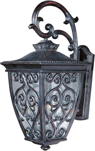 Maxim Newbury Vivex 3-Light Outdoor Wall Mount Oriental Bronze 40124CDOB