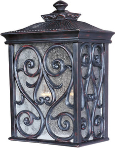 "15""h Newbury Vivex 2-Light Outdoor Wall Mount Oriental Bronze"