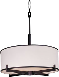 Maxim Nexus 4-Light Entry Foyer Pendant Oil Rubbed Bronze 12053WTOI