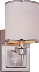 Maxim Nexus 1-Light Wall Sconce Satin Nickel 12059WTSN