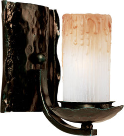 Maxim Notre Dame 1-Light Wall Sconce Oil Rubbed Bronze 10970WSOI