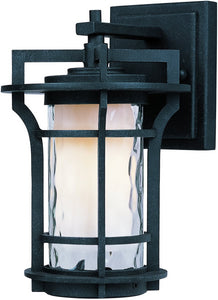Maxim Oakville LED 1-Light Outdoor Wall Lantern Black Oxide 55782WGBO